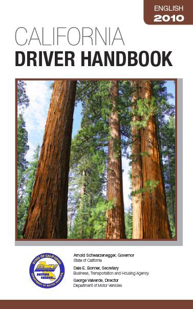 driver license handbook online