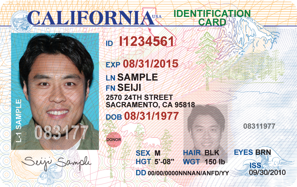 How To Get Your California Id Card Mentor Language Institute